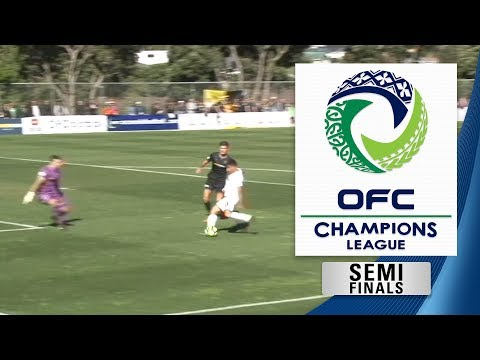 OFC CHAMPIONS LEAGUE 2018 | Semi Final 1st Leg - Team Wellington v Auckland City FC Highlights