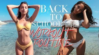 BACK-TO-SCHOOL WORKOUT ROUTINE! | Nil Sani