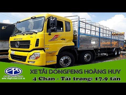 Xe tải DONGFENG 4 giò nhập nguyên chiếc YC310