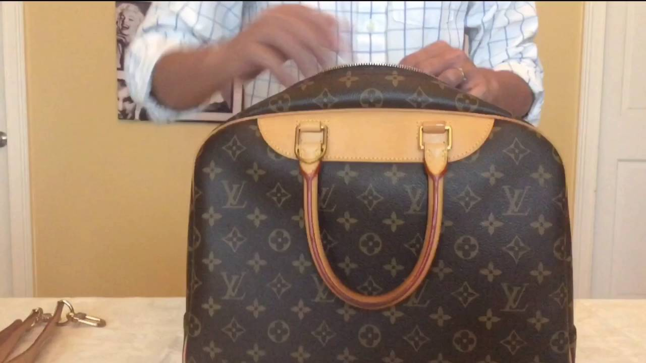 78b57e46c292 Louis Vuitton Collection Deauville Monogram Canvas - YouTube