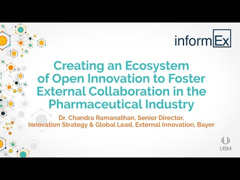 Creating an Ecosystem of Open Innovationin the Pharmaceutical Industry