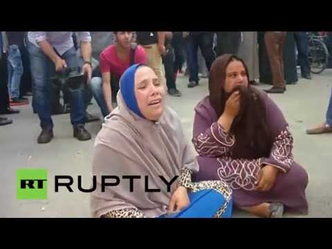 Egypt: Brotherhood supporters gather at court after mass death sentence