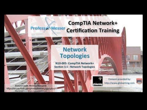 Network Topologies - CompTIA Network+ N10-005: 3.5