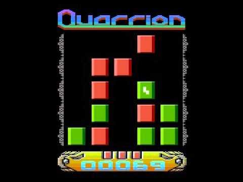 Quarrion - Atari XL/XE - gameplay