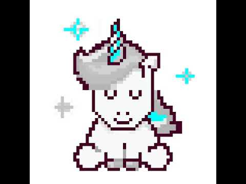 Pixel Licorne Youtube