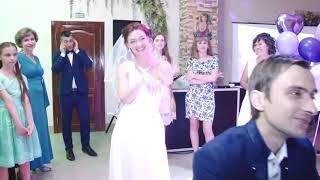 Жених угадывает невесту. Свадебный конкурс