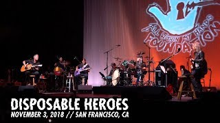 Disposable Heroes (AWMH Helping Hands Concert - November 3, 2018)