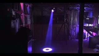 NEW ADJ Ricochet - The Scanner That Acts Like A Laser
