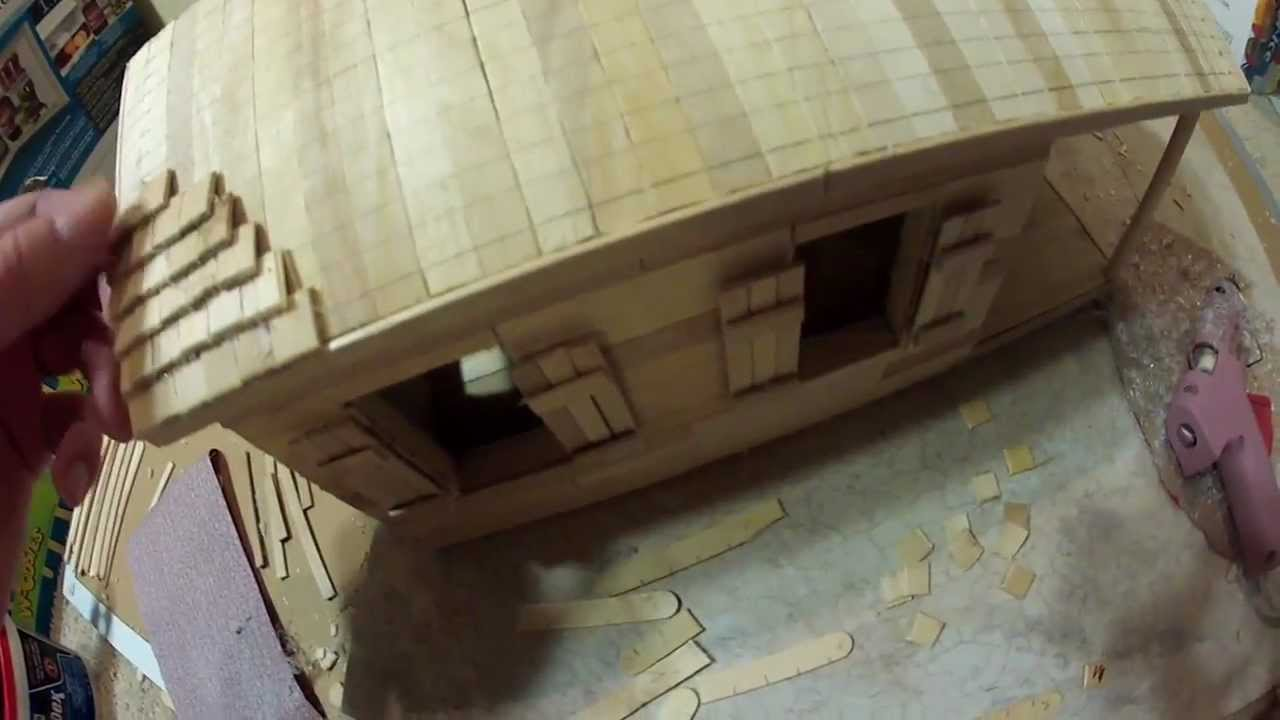 9 9 Model Building Process Roof Shingles Youtube