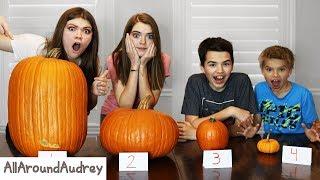 Pumpkin Carving 2019 Halloween Wars! I AllAroundAudrey