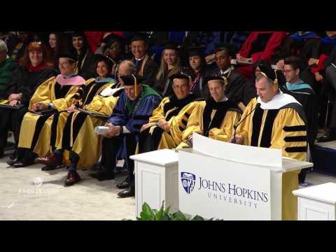 Frank Bruni, Johns Hopkins University's 2017 Commencement Speaker