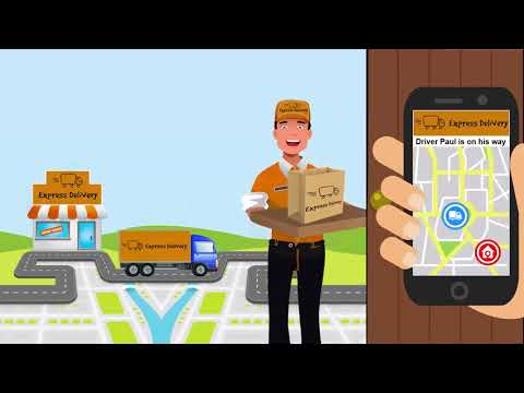 Delivery Ninja for couriers, trades people etc.