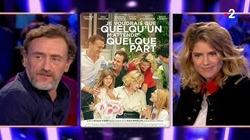Alice Taglioni et Jean-Paul Rouve - On n'est pas couché 11 janvier 2020 #ONPC