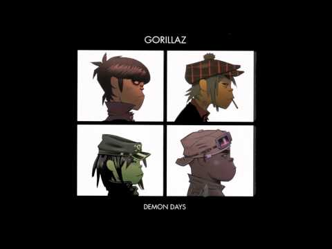 10- All Alone - Gorillaz ( Demon Days ) [HQ]