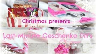 Last Minute Christmas DIY Geschenke