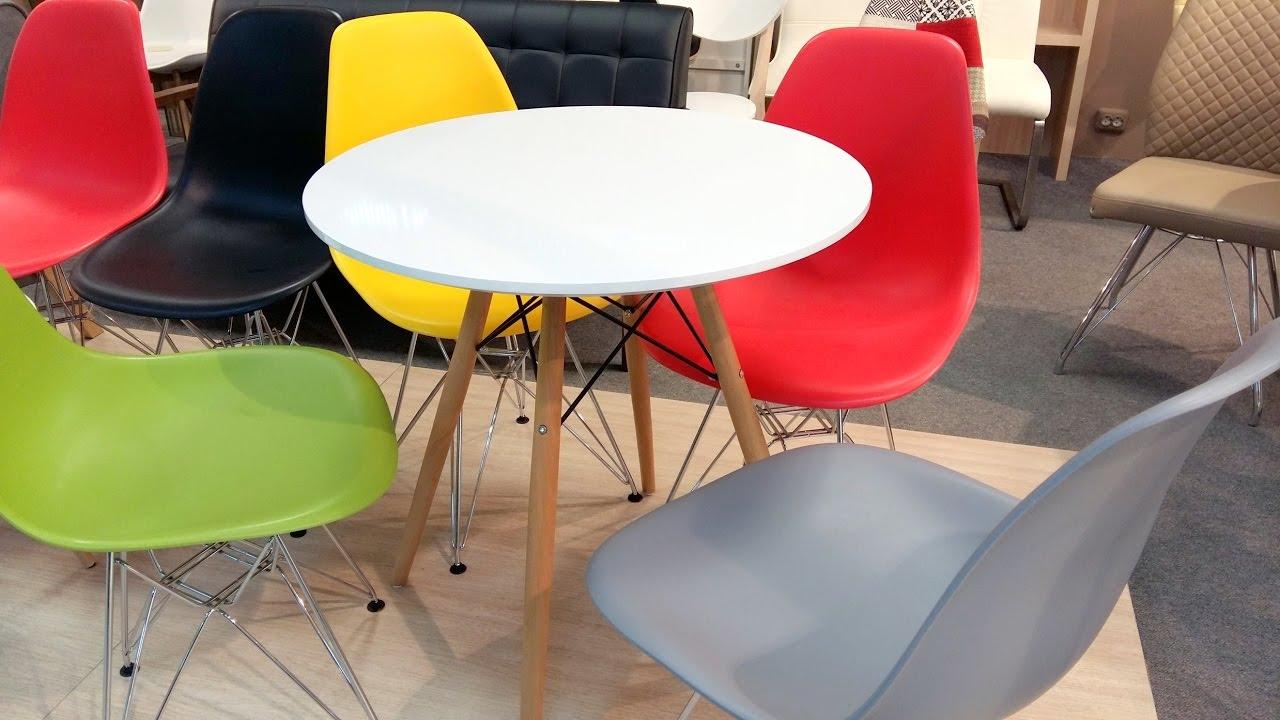 прозрачные стулья для кухни купить - YouTube