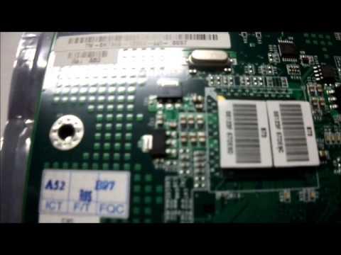 Dell H7345 DAS73TB16C2 Dual Gigabit Daughter Board