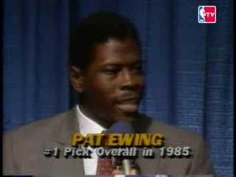 NBA Draft 1985 - Patrick Ewing (Pick NO.1)