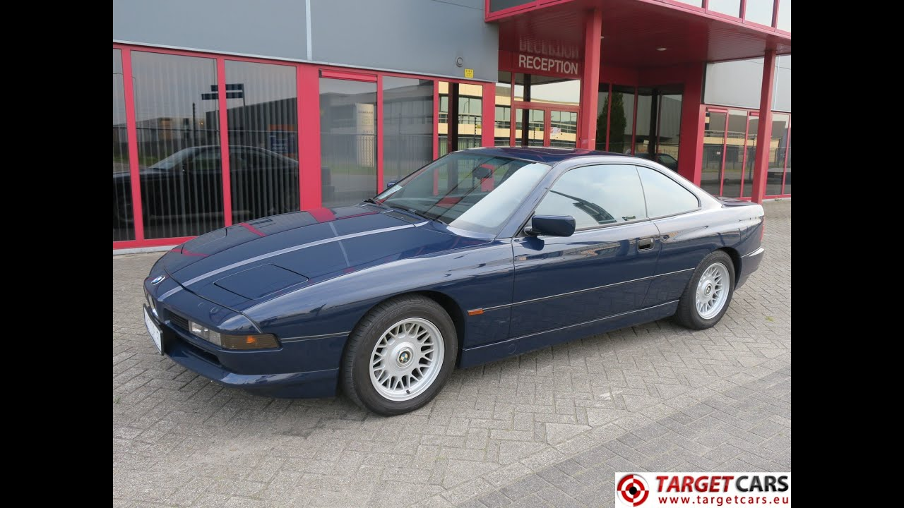 741027 bmw 850i e31 coupe aut 5 0l 03 1991 blue 299hp. Black Bedroom Furniture Sets. Home Design Ideas