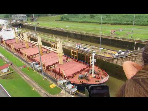 Tyrone at Panama Canal part 2