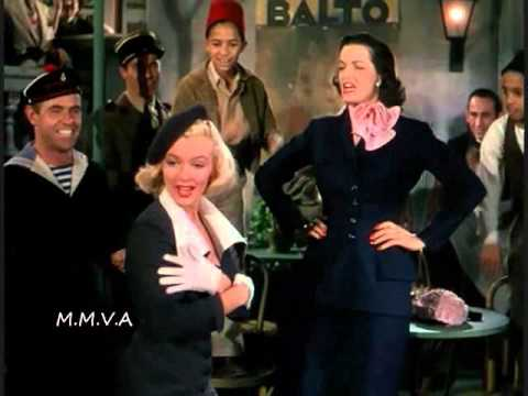 Marilyn Monroe and Jane Russell - 'When Love Goes Wrong, Nothing Goes Right'