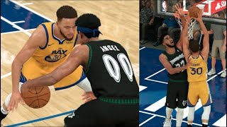 Steph Curry DUNKED On Karl Anthony Towns! NBA 2K20 MyCareer - BUDGET PLAYER EP. 5!
