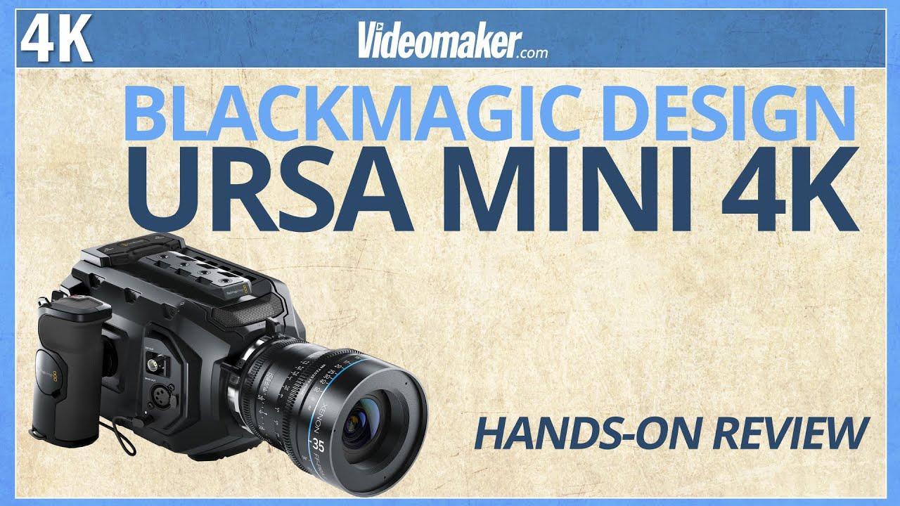 Blackmagic Design Ursa Mini 4k Hands On Review Youtube