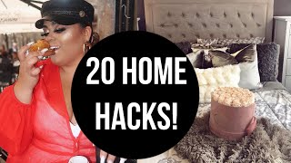 20 BOSS BABE HOME HACKS YOU ACTUALLY NEED TO KNOW!! (GABRIELLAGLAMOUR)