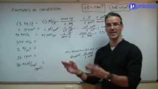 Factores de conversion 01 SECUNDARIA (3ºESO) matematicas