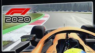 F1 2020 em UltraWide - GP na Áustria de McLaren com Lando Norris | Conferindo Gameplay do Jogo