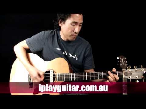 How to play Dancing Generation on guitar - Mat Redman