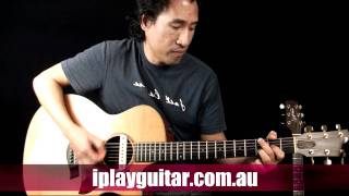 How to play Dancing Generation on guitar - Mat Redman