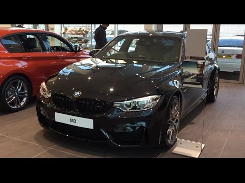 2017 Bmw M3 Competition Package Exterior And Interior Walkaround