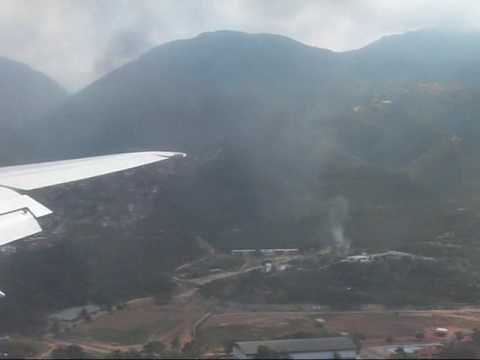 Take Off from San Juan - Puerto Rico to Caracas - Venezuela