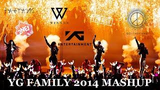 ♥ YG FAMILY 2014 ♥ - KPOP MASHUP BY SANDY G | 2NE1, WINNER, EPIK HIGH, TAEYANG, GD u0026 BOBBY