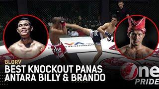 Jelang FN 41, Intip Best Knockout Panas Billy Pasulatan & Brando Mamana | One Pride Glory