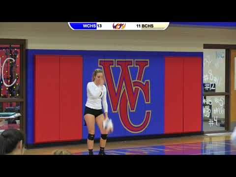 WCHS Volleyball vs. Boyle County - 10/02/17