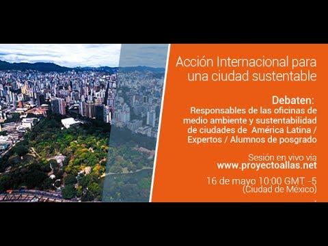 3° Webinar #ALLAs: Acción internacional para una ciudad sustentable