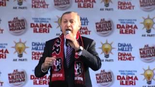 Başbakan Recep Tayyip Erdoğan Ak Parti Uşak Mitingi FULL KALİTE LOGOSUZ 27.02.2014