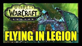 World of Warcraft: Legion Flying