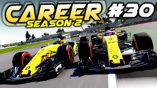 F1 2017 Career Mode Part 30: SO MANY 3 WIDE MOMENTS AT HOME RACE!
