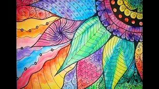 Zentagle RELAXING Time Lapse Art