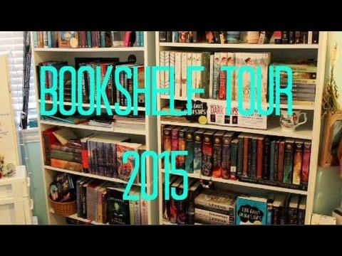 BOOKSHELF TOUR – 2015