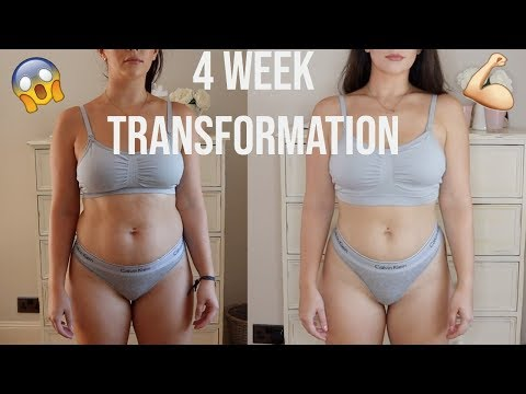 MY 4 WEEK WEIGHT LOSS TRANSFORMATION | HOW TO LOVE YOUR BODY | AD