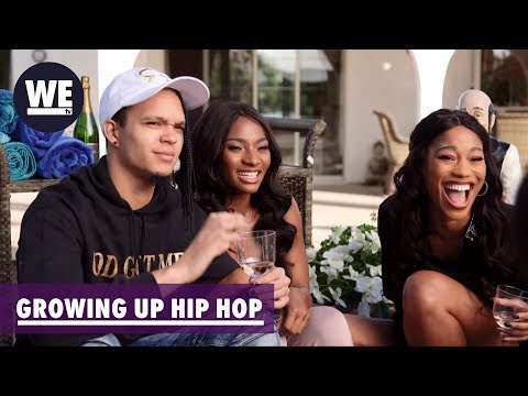 Rosé All Day: Tee Tee's Timeout  Growing Up Hip Hop  WE tv