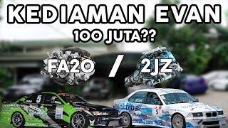 GARAGE TOURS: Kediaman Evan Pratama #CARVLOG INDONESIA