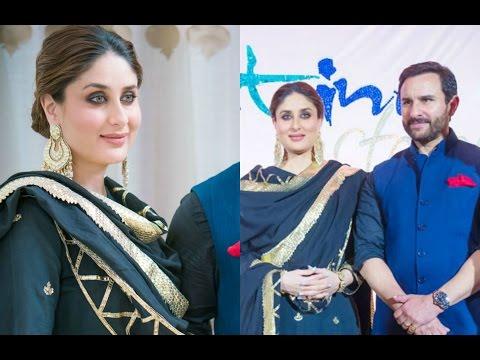 Kareena Kapoor And Saif Ali Khan At Pristine Estate Endorsement