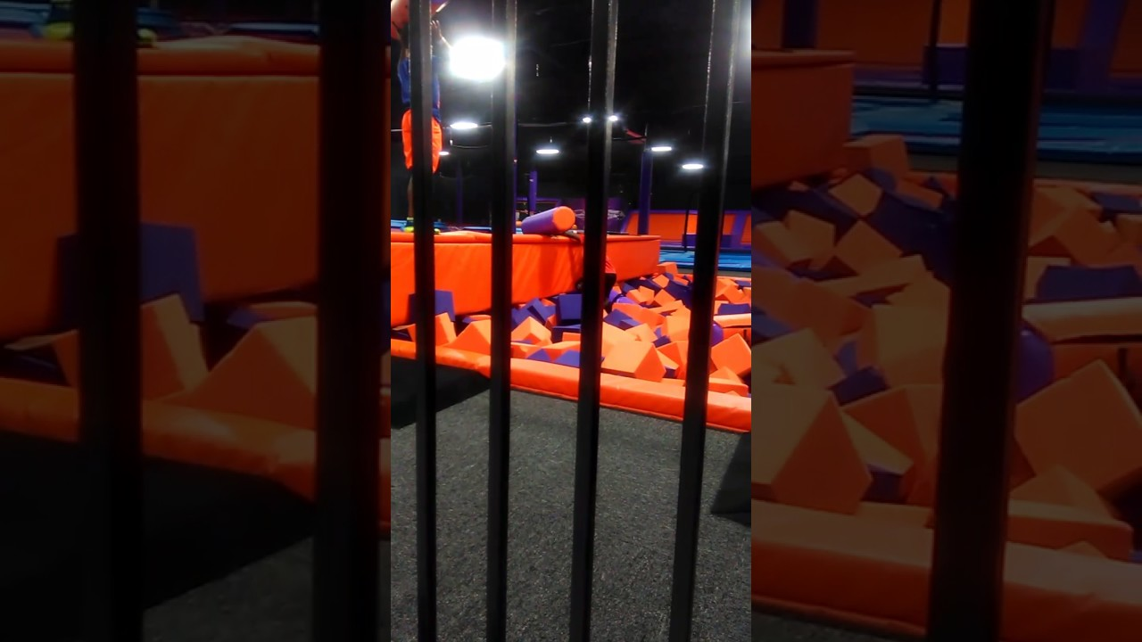 Surge Trampoline Park With Tyson Youtube