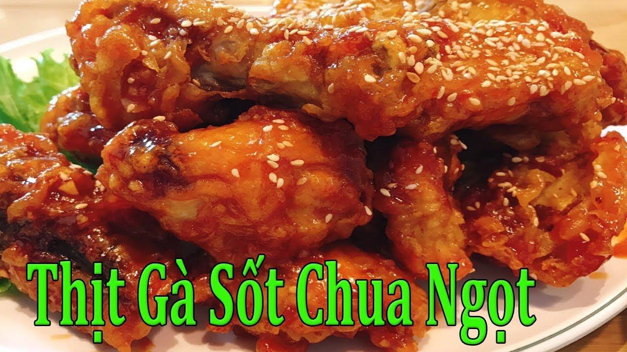 ✅ Nhanh Và Ngon Cho Món Thịt Gà Chua Ngọt   Hồn Việt Food