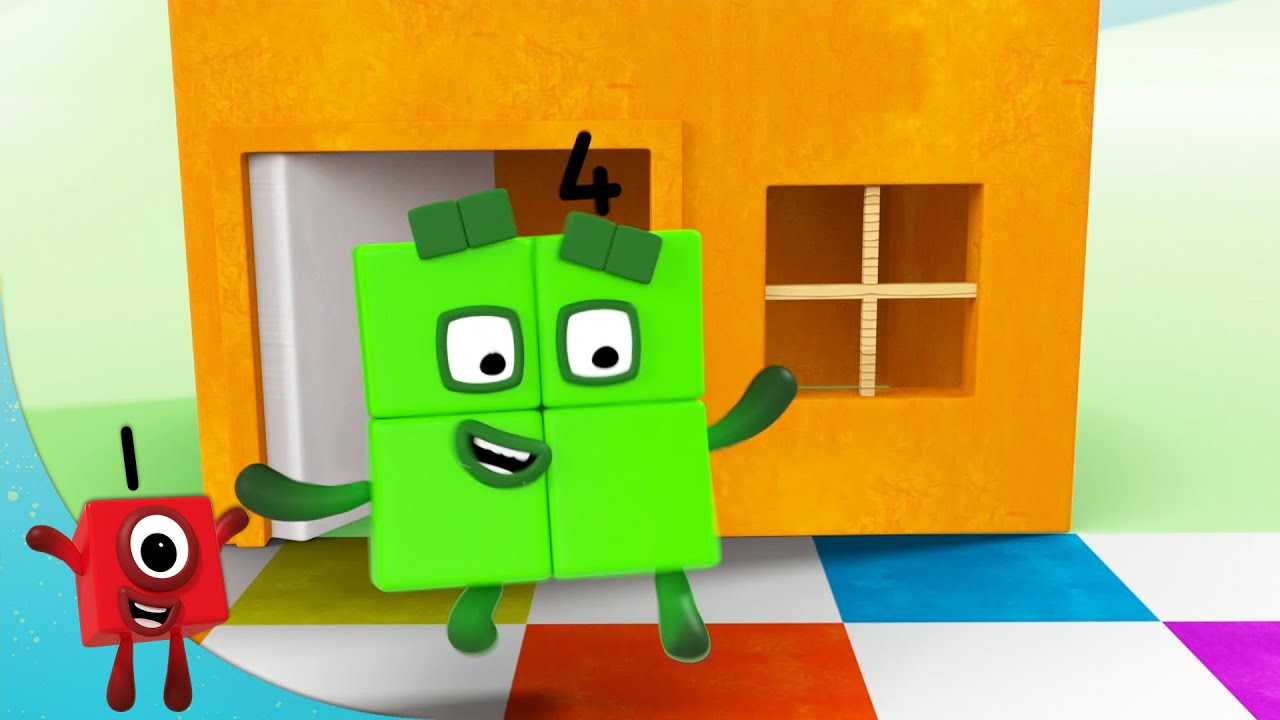 @Numberblocks  - Evening of Even Numbers | Learn to Count | Learning Blocks